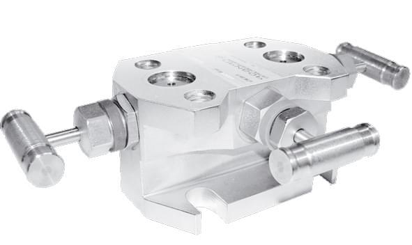 Трехвентильный клапанный блок серии А