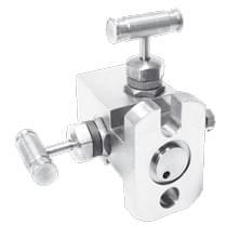 Двухвентильный клапанный блок серии В