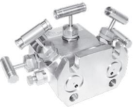 Пятивентильный клапанный блок серии В