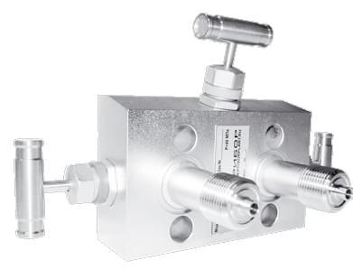 Трехвентильный клапанный блок серии C