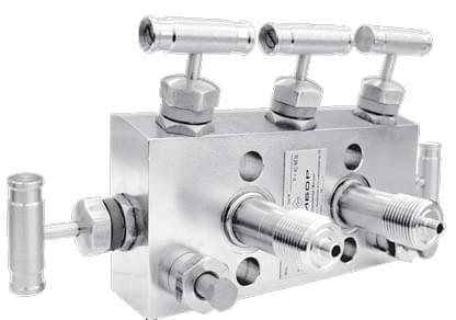 Пятивентильный клапанный блок серии С